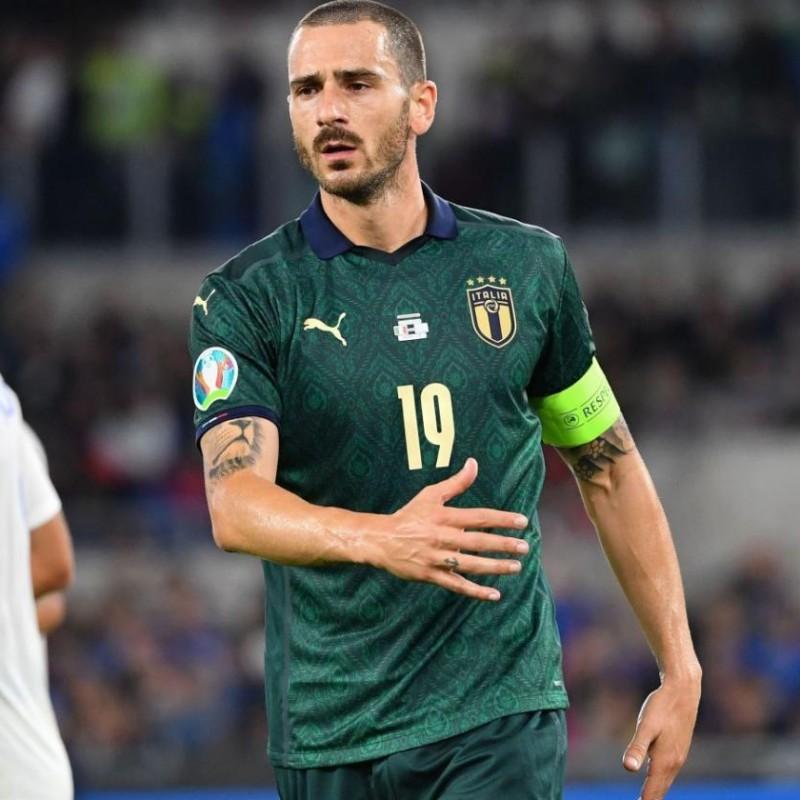 Bonucci's Match Shorts, Italy-Greece 2019