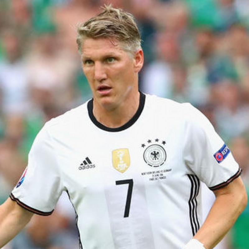 Schweinsteiger's Official Germany Signed Shirt, Euro 2016