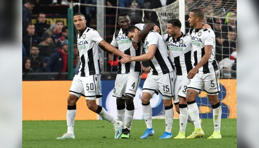 Mascot Experience at the Udinese-Napoli Match