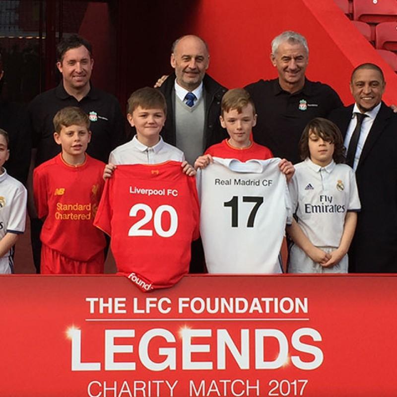 22e36ed9e LFC Legends Charity Match 2017 - Signed Photo Presentation Album