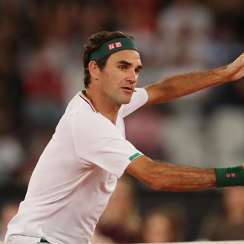 Roger Federer's Signed Match Shirt
