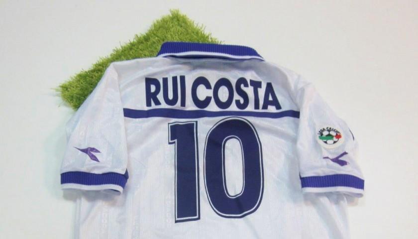 Rui Costa match worn shirt, Fiorentina-Reggina Serie A 2000-2001
