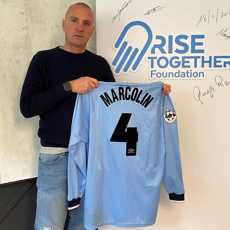 Marcolin's Lazio Worn Shirt, 1997/98