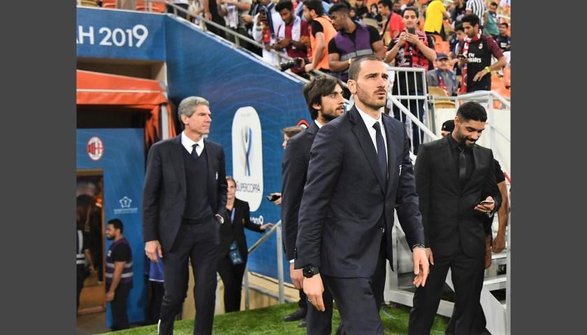 Juventus FC Suit Worn by Leonardo Bonucci