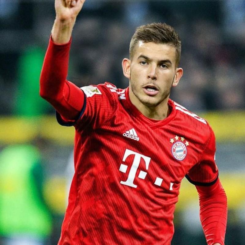 Official Bayern Munich Shirt, 2018/19 - Signed by Hernandez