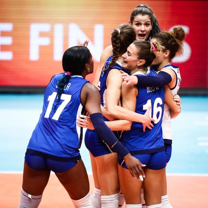 Sylla's Italy Worn Shirt, World Volleyball Championship Final 2018