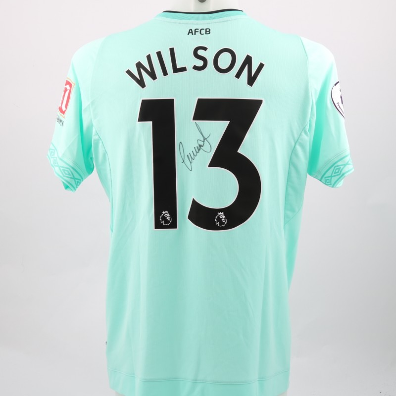 Wilson's AFC Bournemouth Worn and Signed Poppy Shirt