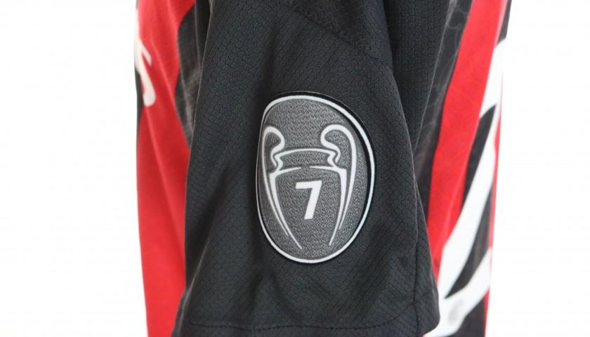 Tomori's Worn and Signed Shirt, Milan-Crotone 2021
