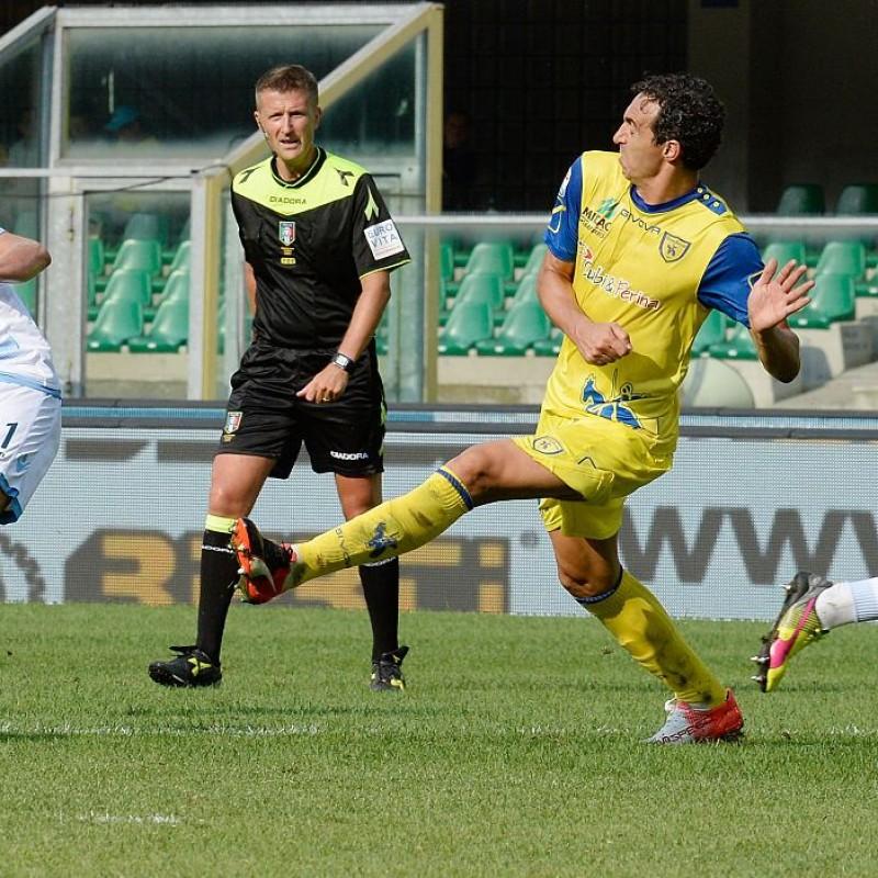Dainelli's Worn Shirt, Chievo Verona-Lazio 2016