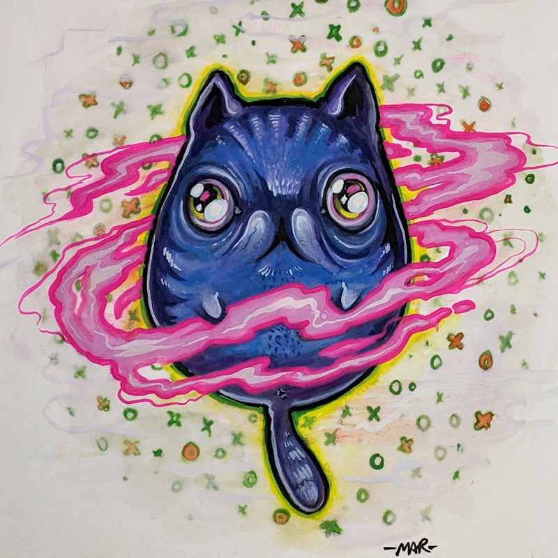 """Meow Into the Void"" by Mar Williams"
