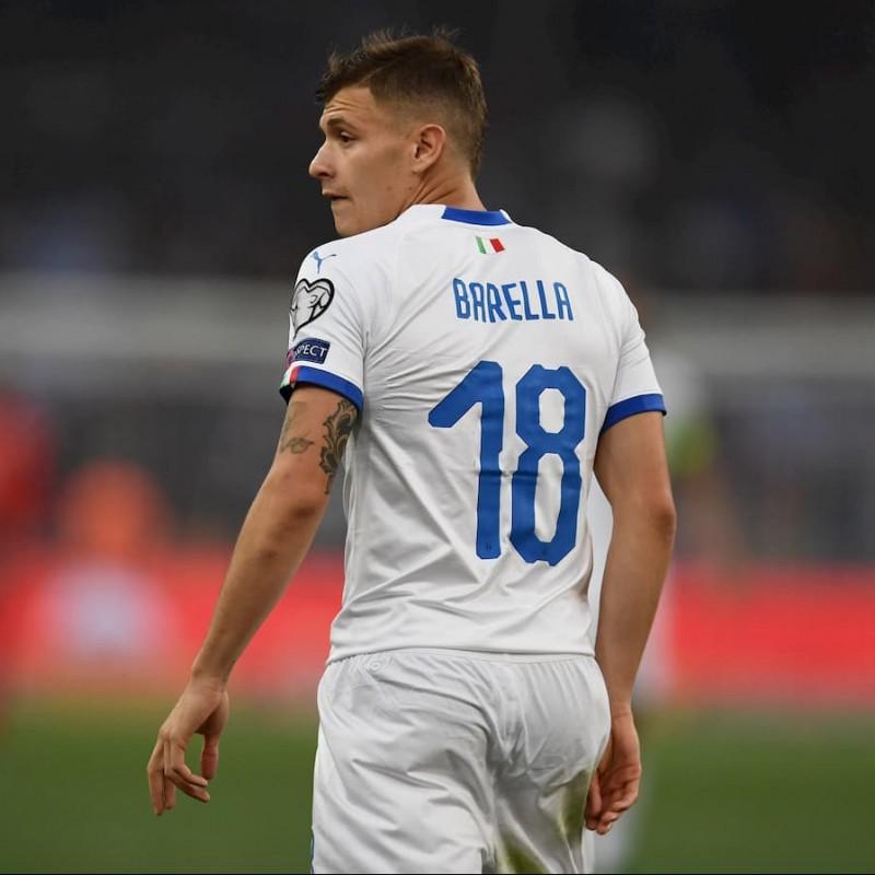 Barella's Match Shirt, Liechtenstein-Italy 2019