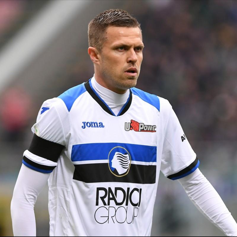 Ilicic's Official Atalanta Signed Shirt, 2018/19