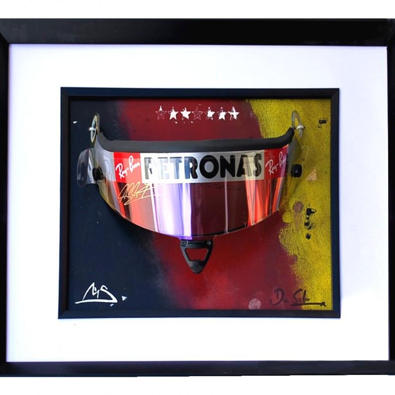 Signed Michael Schumacher original Race Visor