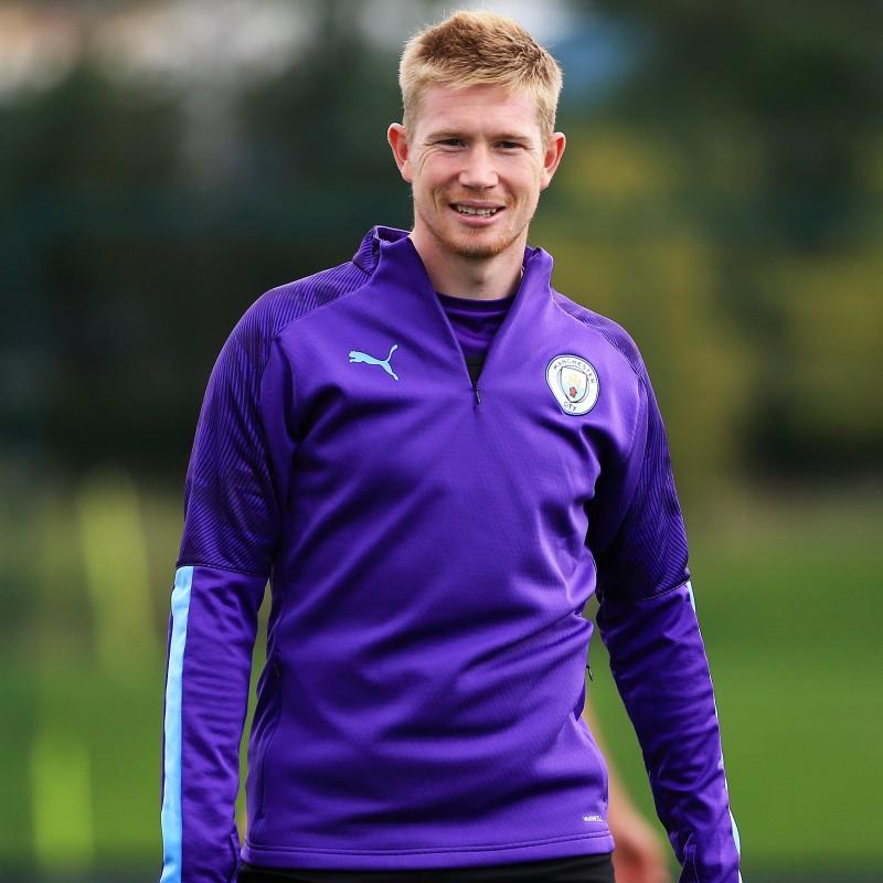 Manchester City PUMA 2019/20 Worn Training Kit, Eight Piece - Kevin De Bruyne