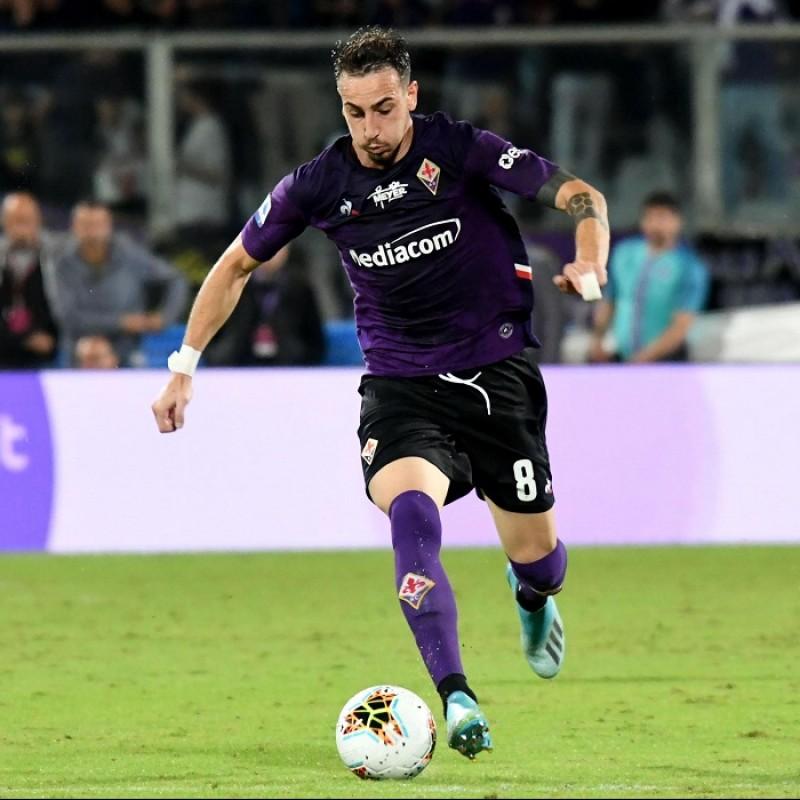 Castrovilli's Fiorentina Signed Match Shirt, 2019/20