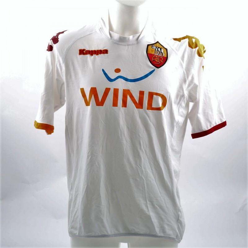 AS Roma Primavera 2008/09 Worn Shirt