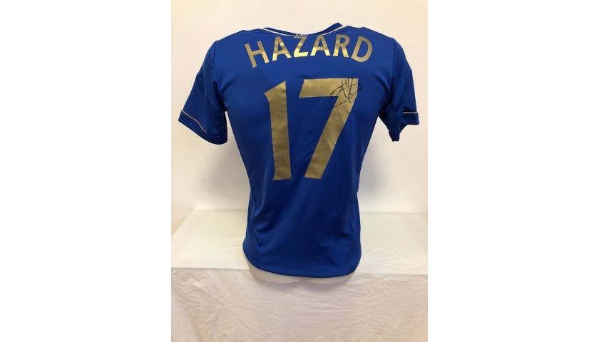 Hazard's Official Chelsea Signed Shirt, 2012/13