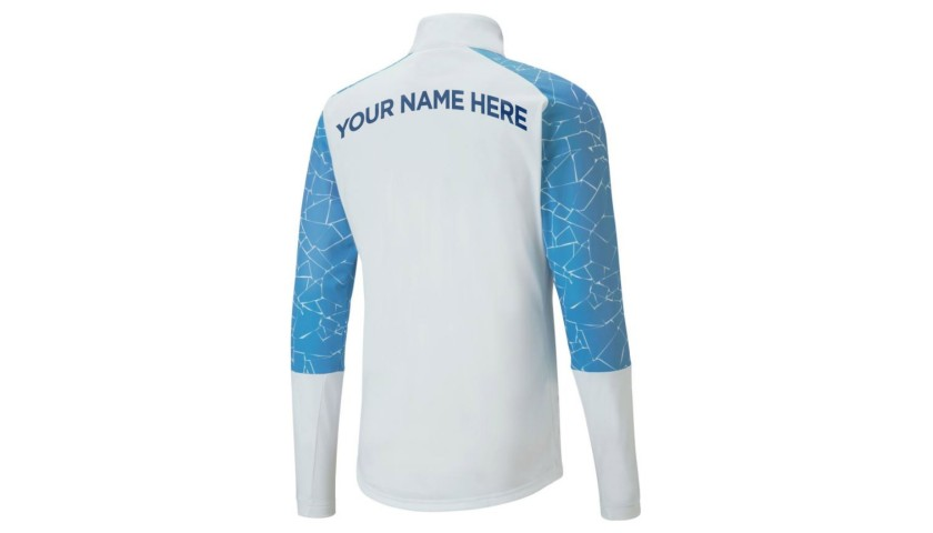 Your name on a Man City Player's Walk-Out Jacket #7