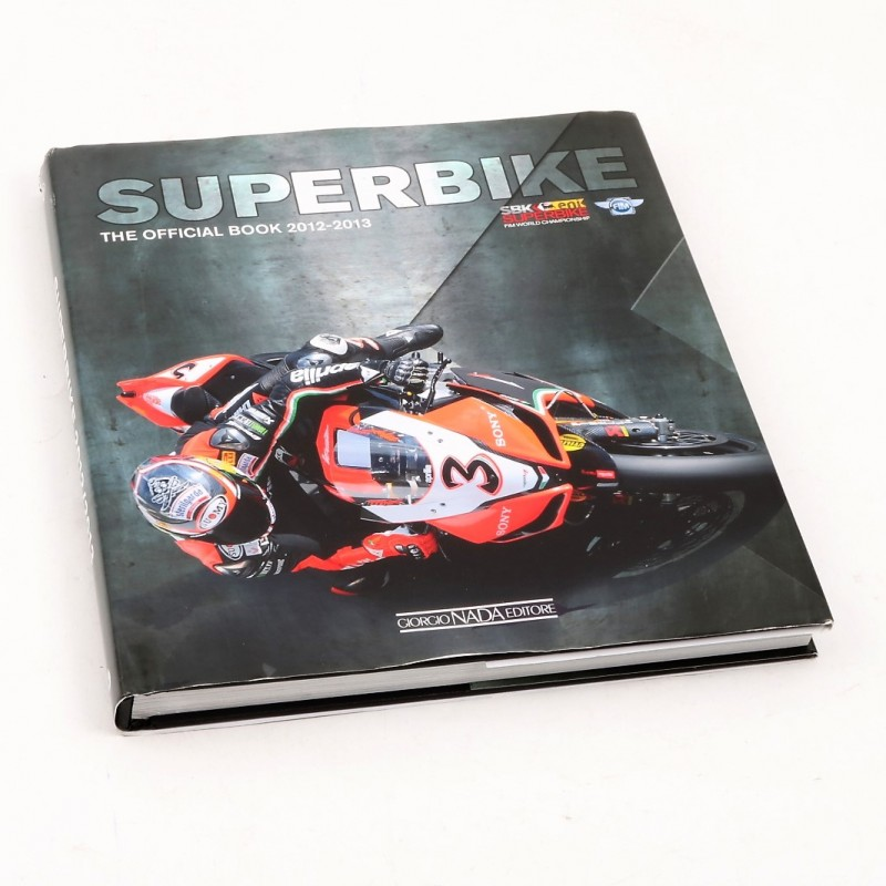 Official 2012/13 Superbike Book - Signed