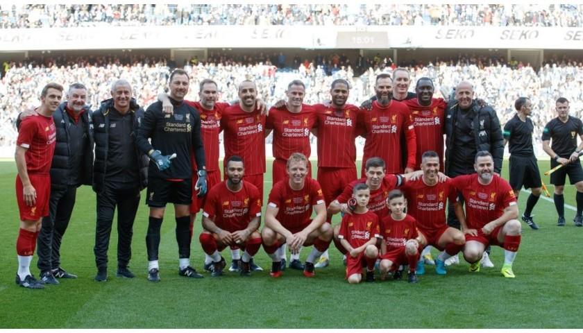 Dudek's Liverpool FC Legends Match Worn and Signed Shirt