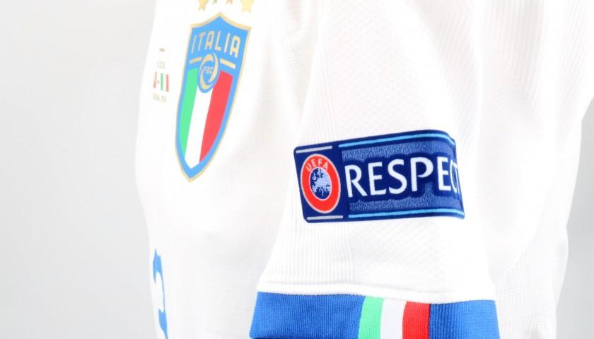 Chiellini's Match Shirt, Portugal-Italy 2018
