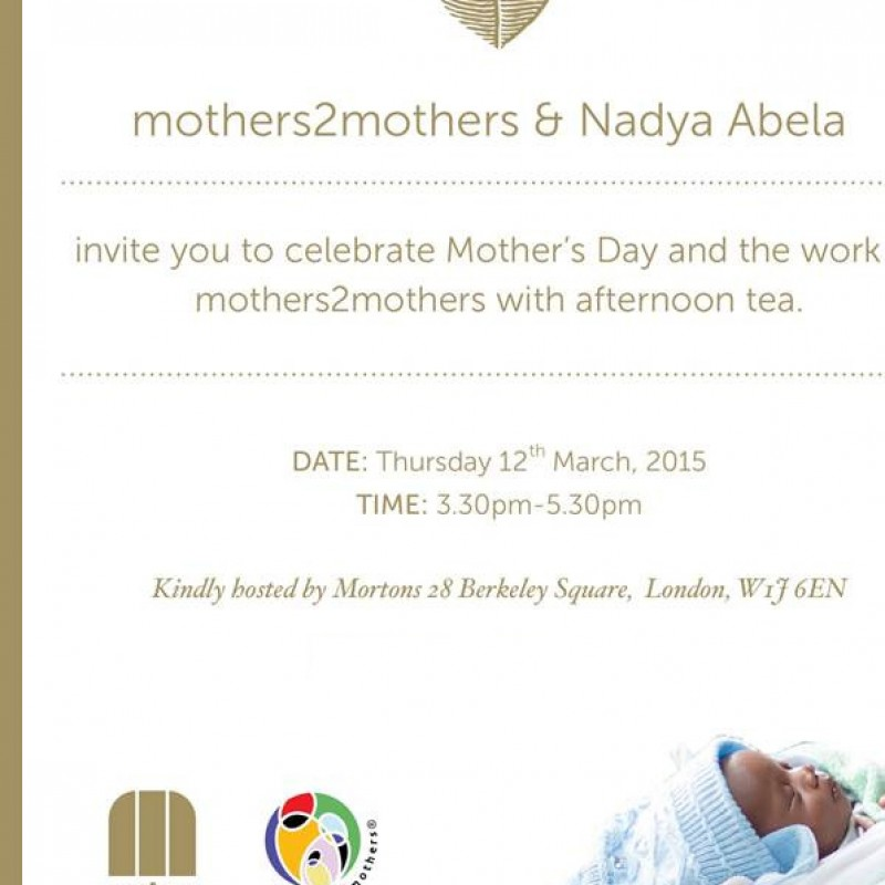 Mothers Day Tea Party at Mortons with confirmed special guests!