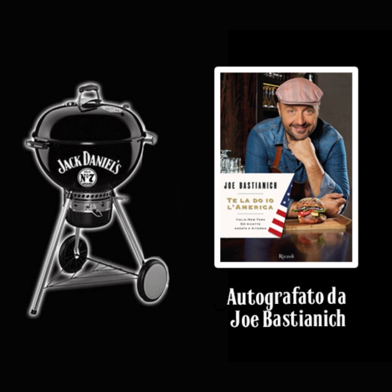 Jack Daniel's BBQ and Book Signed by Joe Bastianich