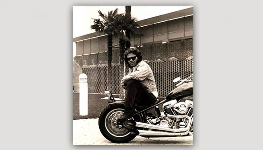 1992 Harley-Davidson FL Owned by Renzo Rosso