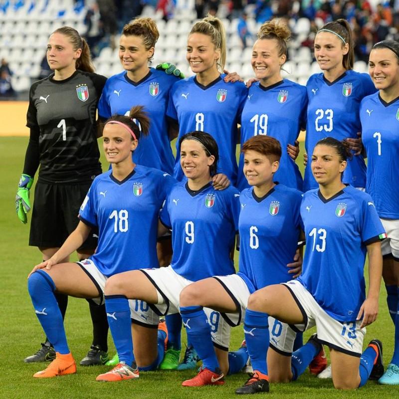 Giuliani's Italy Signed Match Shirt, 2019