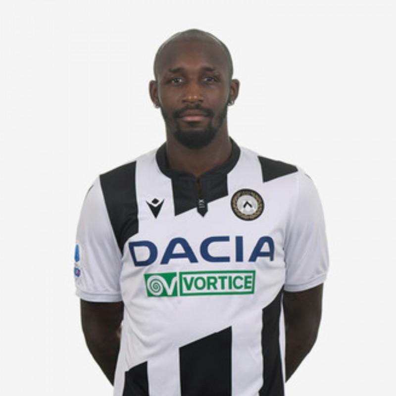Fofana's Special Worn Shirt, Udinese Calcio -SPAL