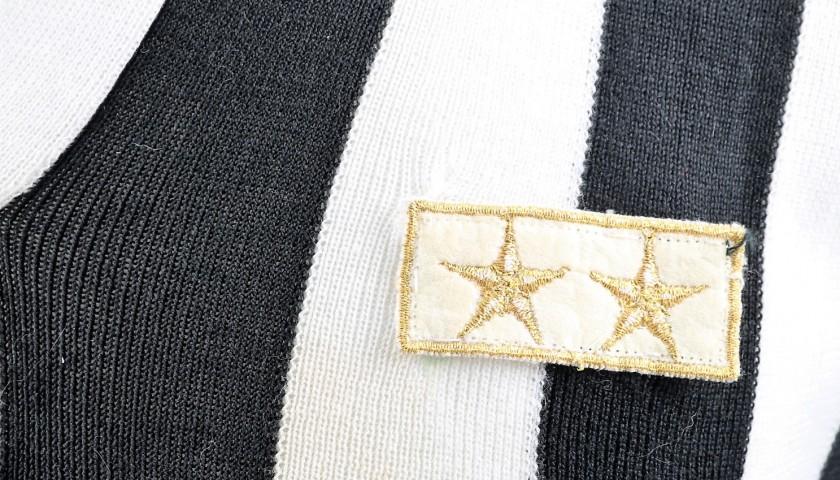 Signed Official 1985/86 Platini Juventus Shirt