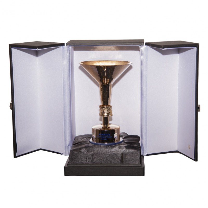 Replica Scudetto Won by Juventus During the 2011/12 Season