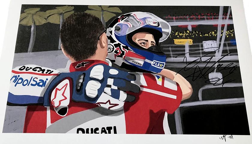 """Andrea Dovizioso: Race 17, Sepang"" by Tammy Gorali"