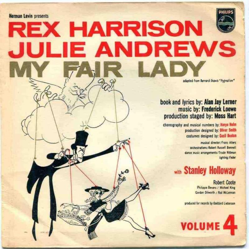 """My fair lady"" Vinyl Album - Rex Harrison, Julie Andrews, 1958"
