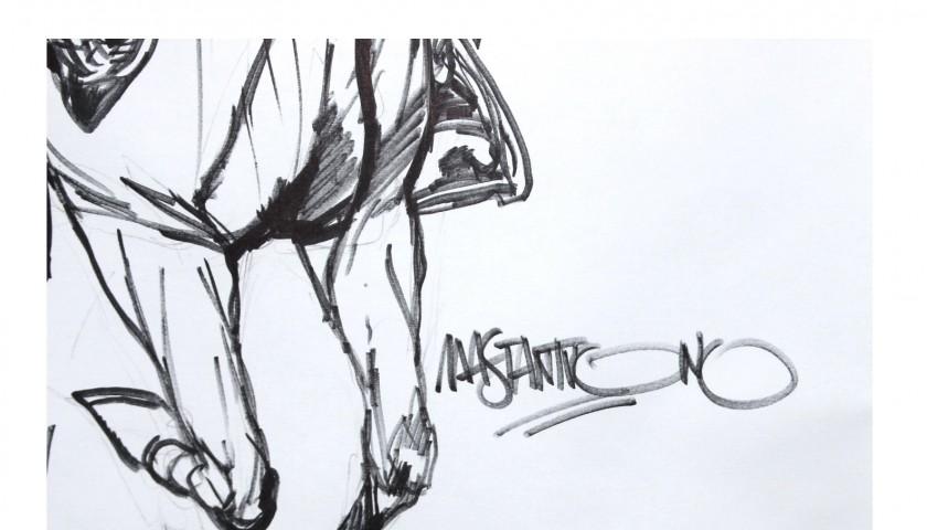 Disegno Originale Di Corrado Mastantuono Del Festival Arf Storie
