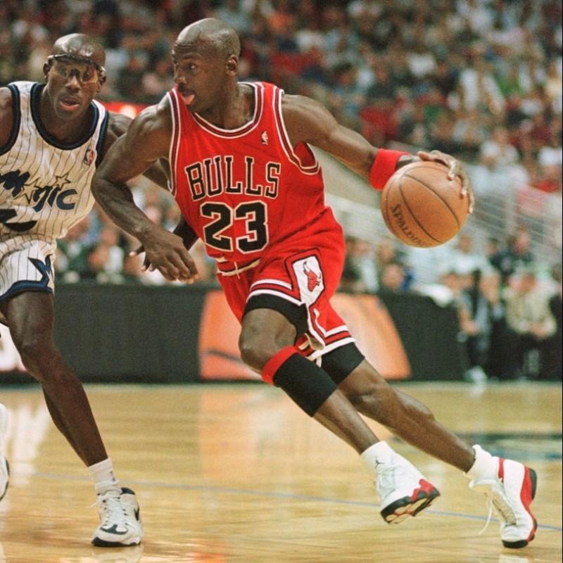Jordan's Official Chicago Bulls Signed Tank Top