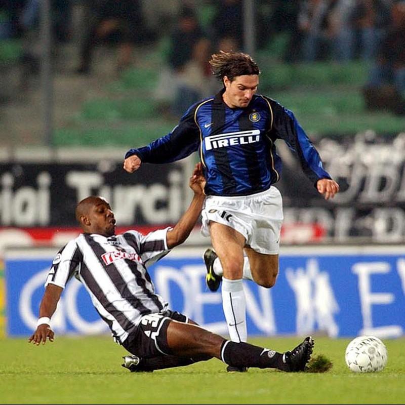 Guglielminpietro's Match-Issued/Worn Inter Shirt, Serie A 2000/01