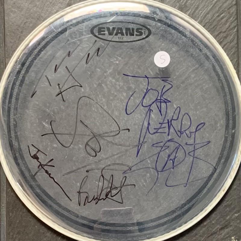 Aerosmith Fully Signed Drumskin