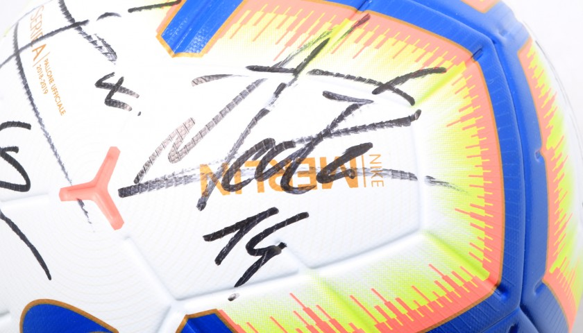 Official Serie A Football, 2018/19 - Signed by the Napoli Squad