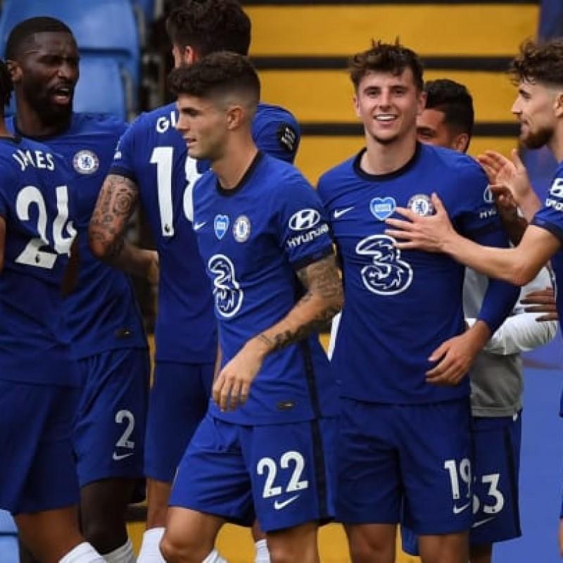 Chelsea Signed Shirt - Premier League 2022 Squad