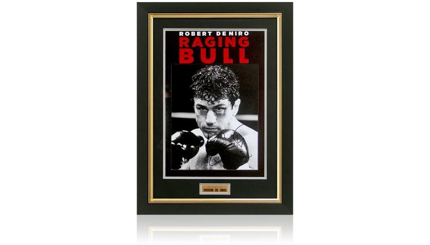 Robert Di Niro Hand-Signed Raging Bull Presentation