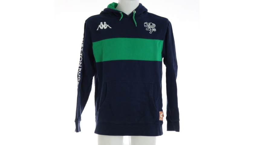 Ian McKinley's Benetton Rugby Worn Sweatshirt, 2016/17