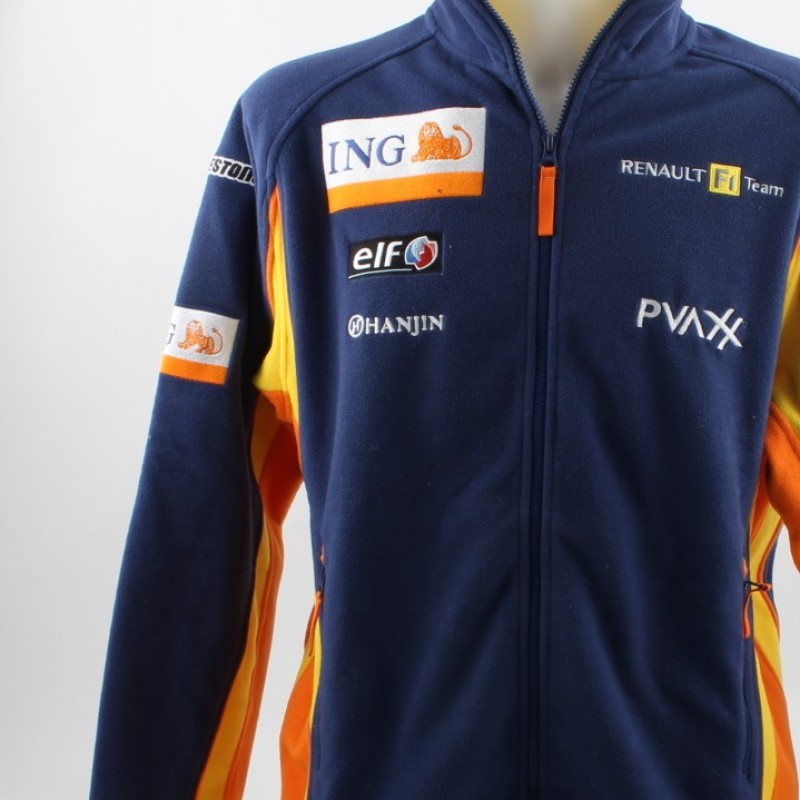 Official Renault jacket, worn by Fernando Alonso