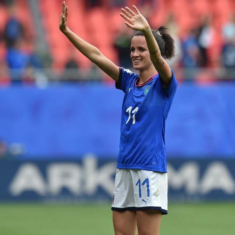 Maglia Bonansea Italia, preparata Qualificazioni Euro 2021