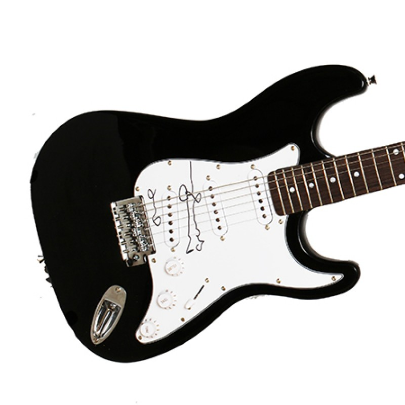 Electric Guitar Signed by Oasis' Noel Gallagher