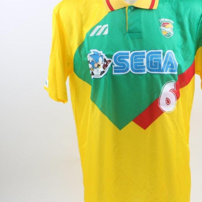 Jef United shirt, issued/worn 2001/2002 season