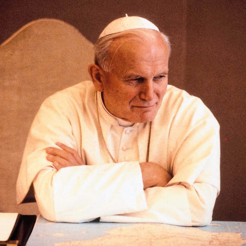 Skullcap Worn by Pope John Paul II