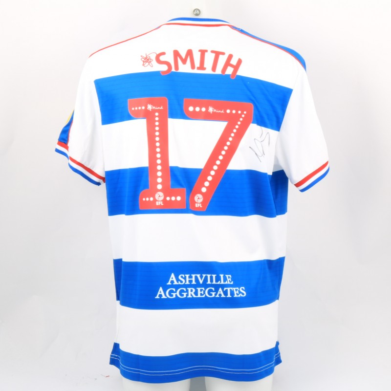 Smith's Queens Park Rangers Match-Issued Signed Poppy Shirt