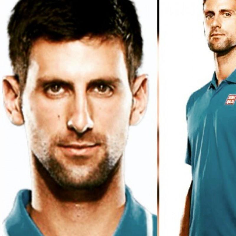 Tennis Polo signed by Novak Djokovic