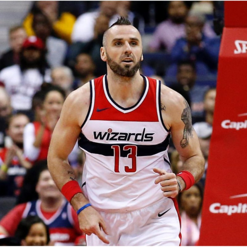 Marcin Gortat's Official Washington Wizards Signed Jersey